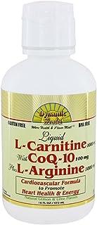 Dynamic Health - Liquid L-Carnitine 1000 Mg with CoQ-10 25 Mg Plus L-Arginine 1000Mg - 16 fl. oz.