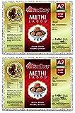 Shree Radhey Gir Cow Ghee Shree Radhey Home Made Methi Laddu - 400 Gm X 2