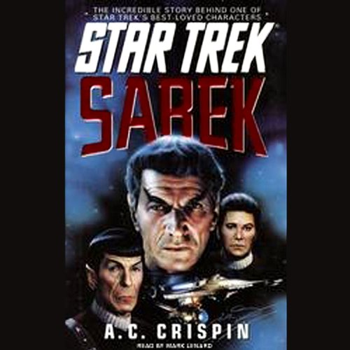 Star Trek: Sarek (Adapted) audiobook cover art