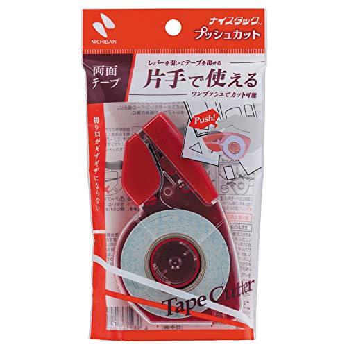 ニチバン ナイスタック 両面テープ プッシュカット 15mm×8m NW-15P