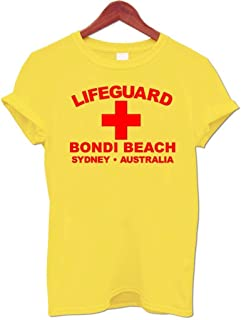 bondi beach lifeguard t shirt