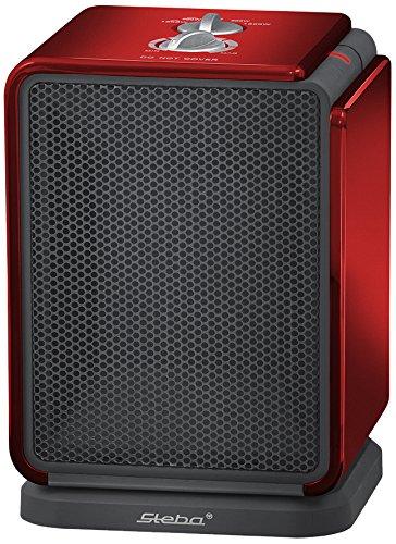 Steba KH 2 - Ventilador (Negro, Rojo, 1800 W, 220 V, 50 Hz, 175 x 160 x 255 mm, 1.7 kg)