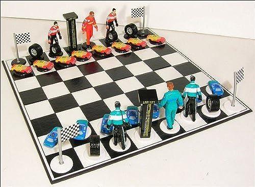 Envio gratis en todas las ordenes Big League Promotions Auto Racing Chess by Big League League League Promotions  en stock