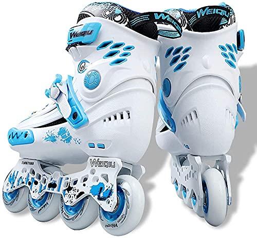 Roller Patins professionnels en ligne pour les lames de rouleau à une seule rangée adulte à rouleaux en ligne chaussures de patinage de...