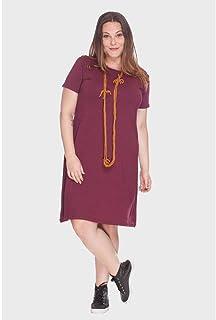 Vestido Pala Torcida Plus Size