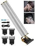 Wirhaut Recortadora Eléctrica para Hombres, Máquina Cortapelo, Maquina Cortar Pelo,Carga USB(Blanco)