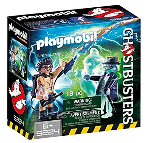 CAZAFANTASMAS Spengler and Ghost Playset...