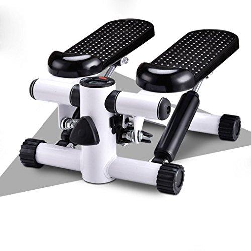 Kays Swing Stepper fitness stegmaskin lågbrusstegsstegare, inklusive motståndstråd/hemtränare pedal, justerbar motståndsnivå och upp och ner steg för nybörjare