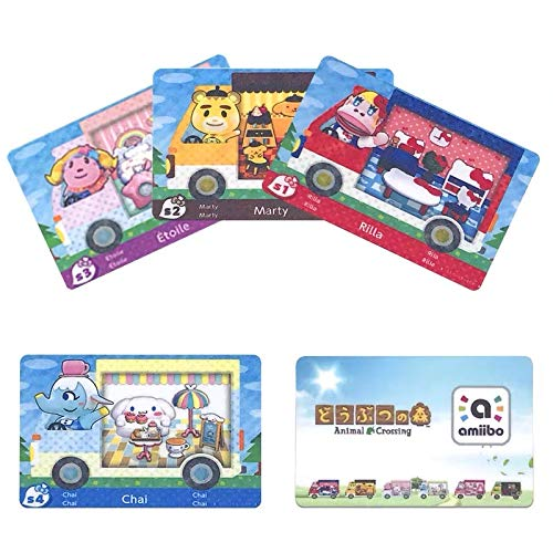 6pcs in All ACNH Sanrio Collaboration Pack RV Furniture Cards Compatible with Switch for Animal Crossing New Horizons. Regular Size.