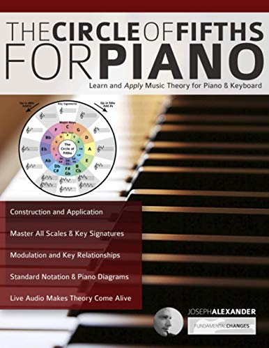 The Circle of Fifths for Piano: Learn and Apply Music Theory for Piano & Keyboard