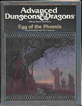 R3 The Egg of the Phoenix - Book  of the Advanced Dungeons and Dragons Module #C4