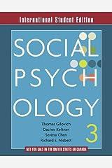 Social Psychology Paperback