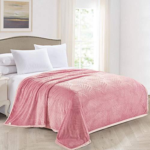 RONGXIE Neue Weiche Flanelldecke Coral Carpet Velvet Towel Sofa Blanket Beibei Velvet Blanket Bettwäsche Einfarbig Multi-Color Optional Home Camping Bettwäsche