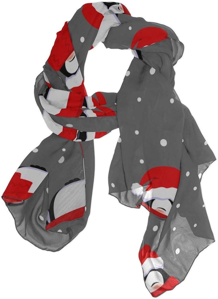 Shawl Wrap Women Cold Winter Snow Penguin Fashion Scarf Women Scarfs Lightweight Lightweight Print Scarves Fashion Scarf Designer Scarf For Women