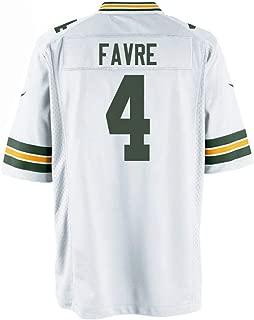 ECMMK Men/Women/Youth Brett_Favre Jersey_#4 for Football Gifts Jerseys