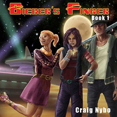 Bieber's Finger audiobook cover art