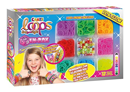 Craze 51192 Fun-Box Loops-Silikonringe