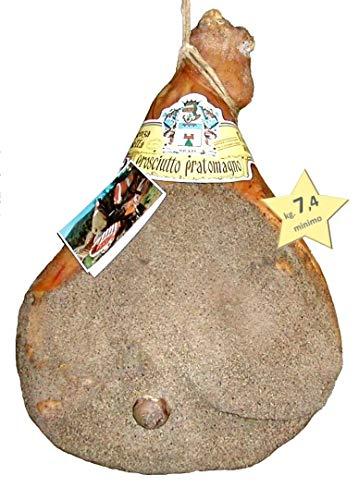 Italienischer Schinken - PROSCIUTTO PRATOMAGNO EXTRA Kg. 7,4 - Schinken, 100% Italienisch, mit Knochen