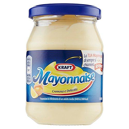 Maionese kraft mayonnaise cremosa e delicata confezione in vaso da 200 milliliters (1000061669)