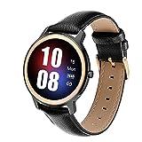 XYZK Reloj inteligente S06 para mujer, compatible con el sueño, presión arterial, monitor de ritmo cardíaco, rastreador de ejercicio, pulsera de reloj inteligente para Android iOS, A(D)