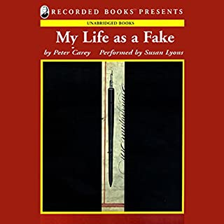 My Life as a Fake audiobook cover art