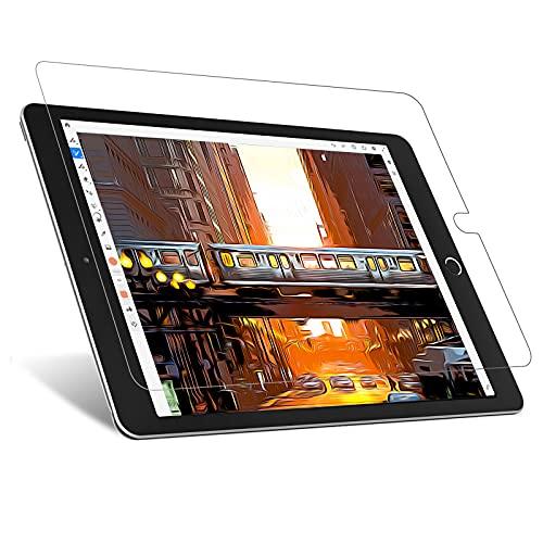 JETech Effetto Carta Pellicola Protettiva Compatibile con iPad (10,2 Pollici, Modello 2021/2020 / 2019, 9/8 / 7 Generazione), Antiriflesso, Pellicola di Carta PET Opaca