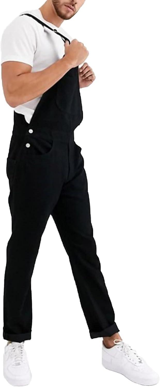 Men's Denim Overalls, Black Overalls, Stylish Men's Overalls