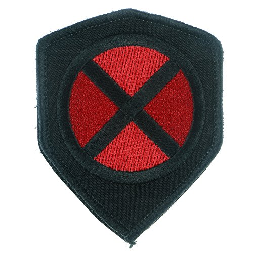 LiZMS Tactical Patch : X-MEN Super Hero - Hook and Loop Fasteners