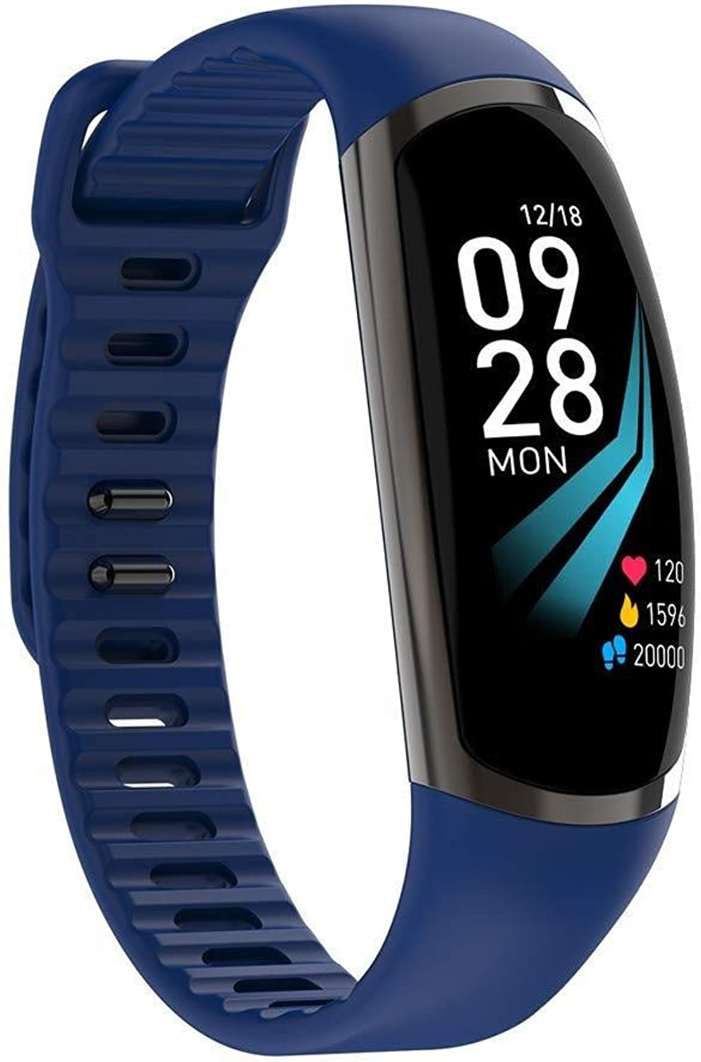 Smart Bracelet color Screen Touch Screen Heart Rate Blood Pressure Blood Oxygen Monitoring Sports Pedometer Watch
