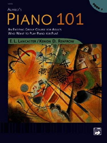 Alfred's Piano 101, Book 1: An Exciting Group Course for...