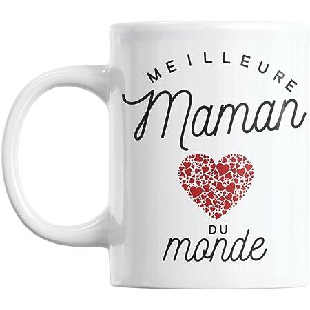 Mug Meilleure Maman du Monde   Cadeau Maman Cadeau Fete Des Meres Mug Cadeau Pour Maman Tasse Maman Ceramike Cadeau Anniversaire Maman Cadeaux Meres Mere Mug Maman Cadeau Mamon Cadeau Pour Sa Mere