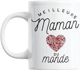 Mug Meilleure Maman du Monde | Cadeau Maman Cadeau Fete Des Meres Mug Cadeau Pour Maman Tasse Maman Ceramike Cadeau Annive...