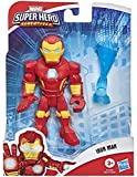 Super Hero Adventures- SHA Mega Mini Iron Hombre (Hasbro E7928)