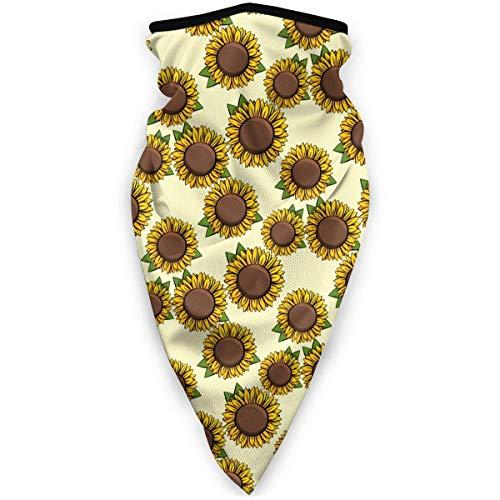 July gele zonnebloem schilderij bloem windscherm sjaal gezichtsmasker wasbaar stofmasker bivakmuts bandana