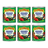 Tuttorosso Crushed Tomatoes with Basil, Gluten Free and Vegetarian Recipe, 28oz Cans, 6-Pack