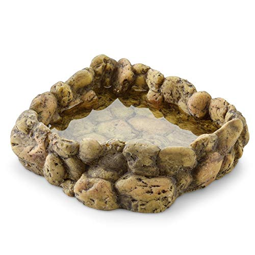 Exo Terra Corner Water Dish, Eck Wassernapf, Wasserschale für Reptilien, groß