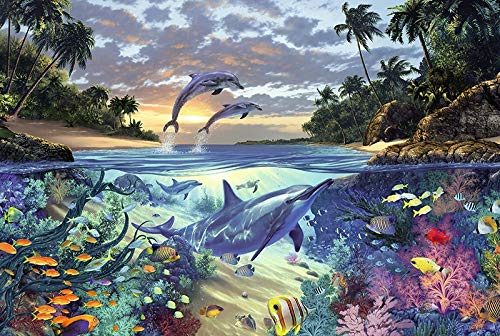 Under The Sea puzzel For Adults Elk stuk is uniek, in elkaar te passen perfect (Color : A)