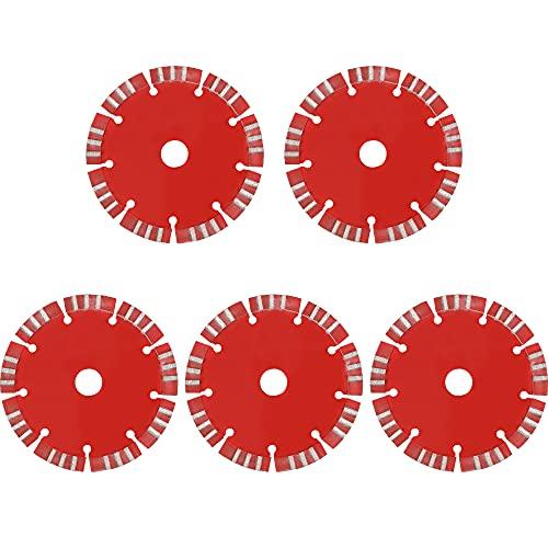 Huanyu 5 piezas de cuchilla de 133 mm para máquina de corte...