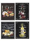Wine & Cheese Varieties Chalkboard Replica...