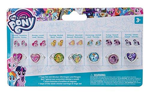 Joy Toy- Set 7 Giorni My Little Pony per Bambini, 95082