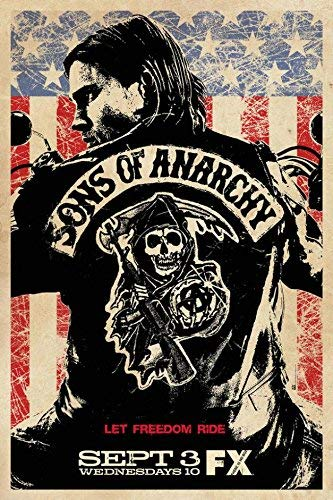 Daaint baby Sons of Anarchy Canvas Wall Poster Tv Shows Series Pictures Jax Teller 01