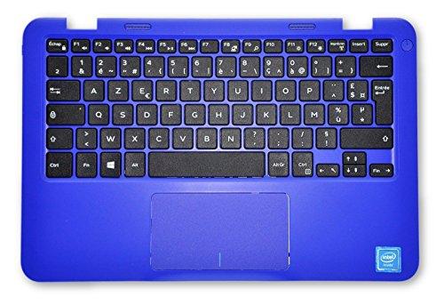 Dell Inspiron 11 3000 Series (3162) Blaue Handauflage mit französischer Tastatur MHDKY 33P9C