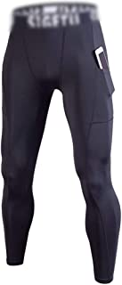 LUKEEXIN Compression Pants Baselayer Cool Dry Sports Tights Leggings for Men