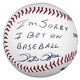 Pete Rose Autographed Baseball w/I'm Sorry I Bet On Baseball - JSA - Autographed Baseballs