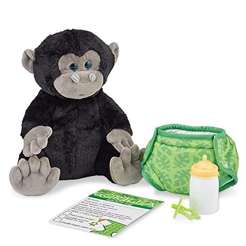 Melissa & Doug 11-Inch Baby Gorilla Plush Stuffed Animal