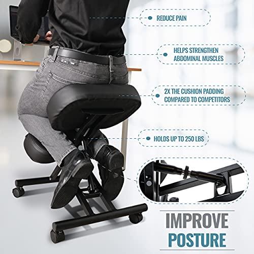 Kneeling Chair by Defy Desk