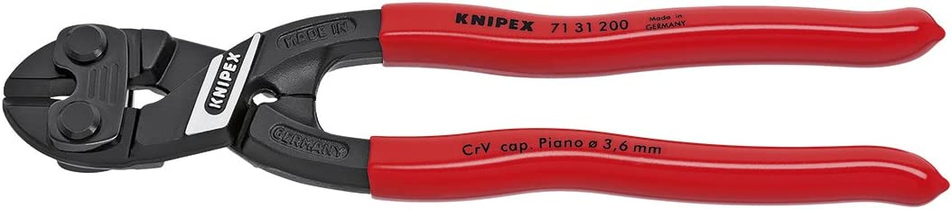 KNIPEX - shopping 71 31 200 Tools Bolt Cutter CoBolt Compact shop With Notch