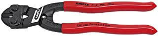 KNIPEX - 71 31 200 Tools - CoBolt Compact Bolt Cutter With Notched Blade (7131200), 8-Inch