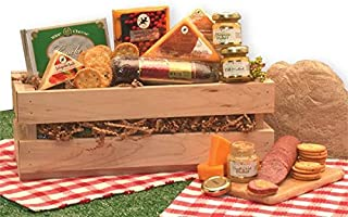 Gourmet Gift Signature Sausage & Cheese Gift Crate