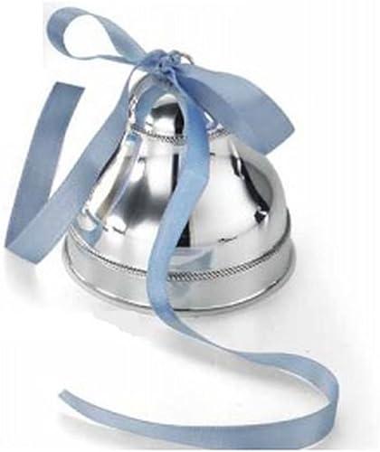 Silberne Spieluhr mit Blauer Schnur cod.88.X01001M cm 8h diam.8 by Varotto & Co.